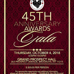 FGC 45TH Anniversary Gala Invite