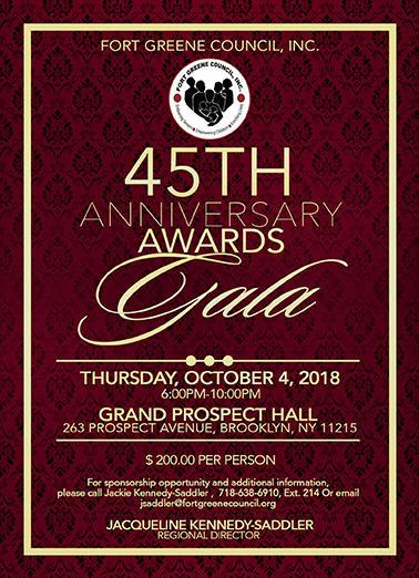 FGC 45TH Anniversary Gala Invite