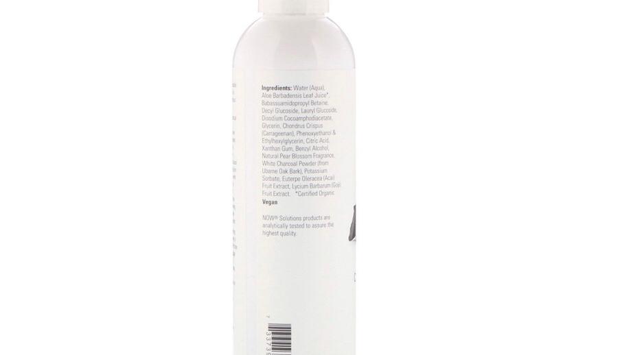 Now Solutions, Charcoal Detox Gel Cleanser, 8 fl oz