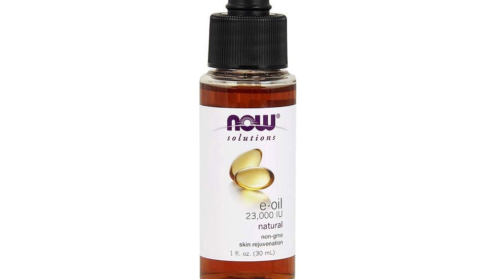 100% Now solutions vitamin E oil