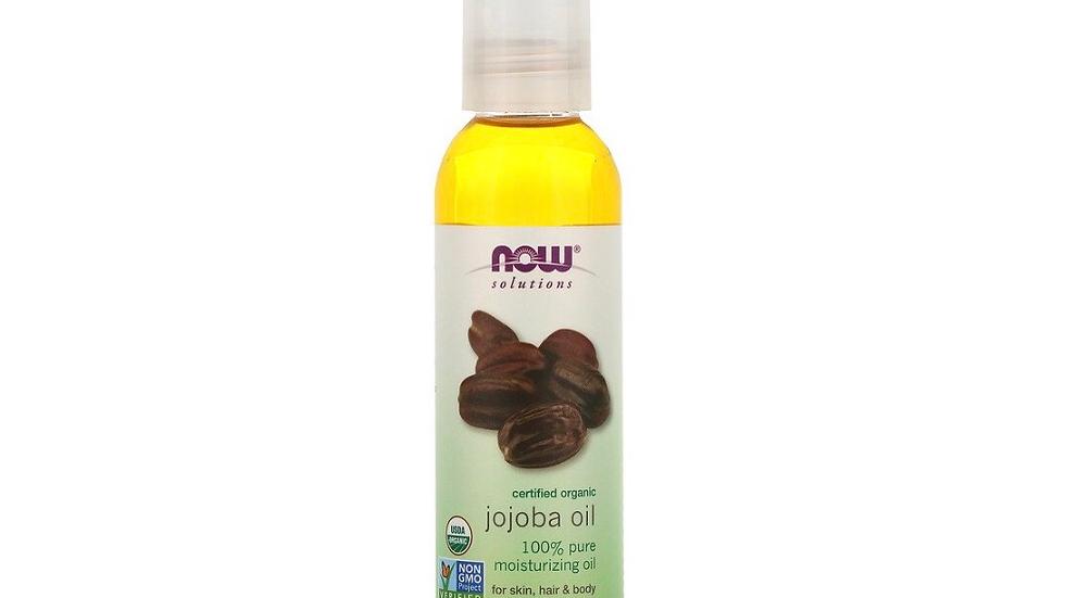 Now Solutions, Certified Organic, Jojoba Oil
