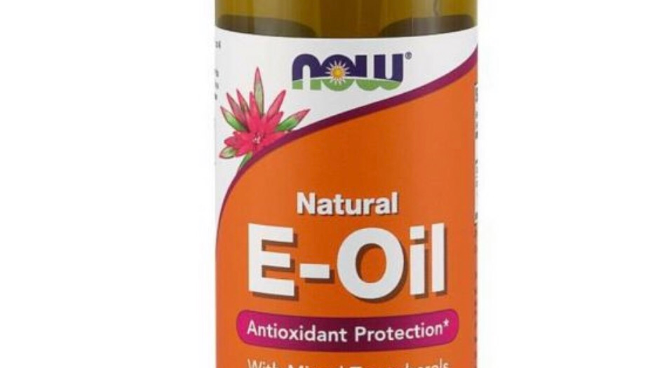 Now solutions vitamin E oil 4 oz