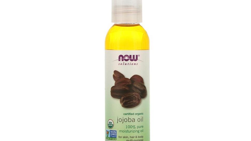 Solutions, Certified Organic, Jojoba Oil, 4 fl oz