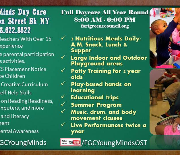Young Minds Day Care Back