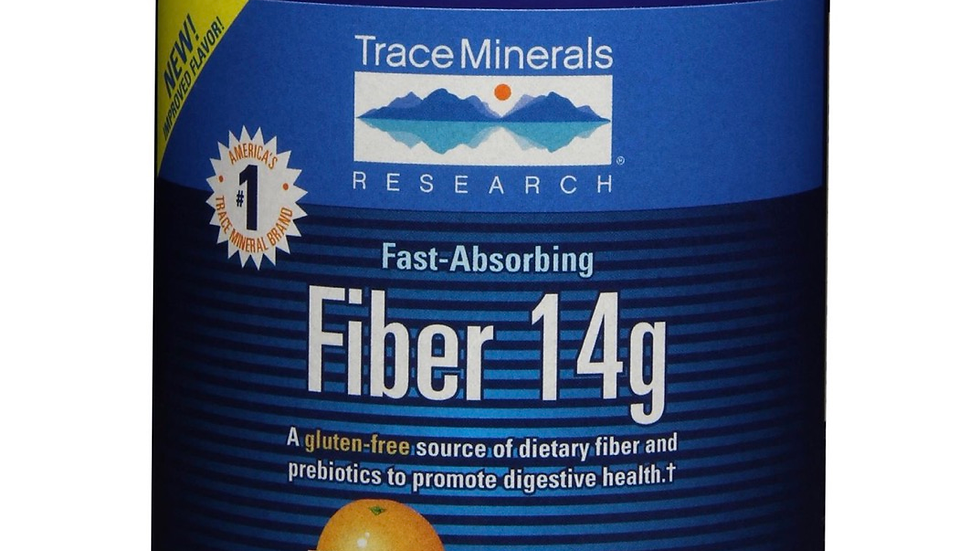 Trace Minerals Research Fiber 14g