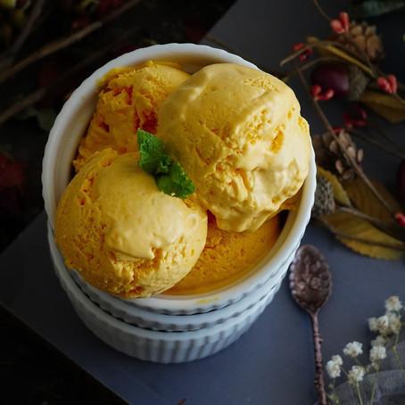 VEGAN Mango, Pineapple Ice Cream