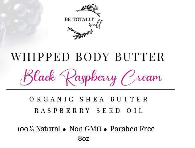 BTW Black Rasberry Body Butter Option 1.