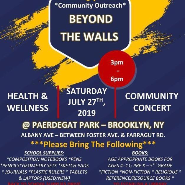 Beyond The Walls Photo Album