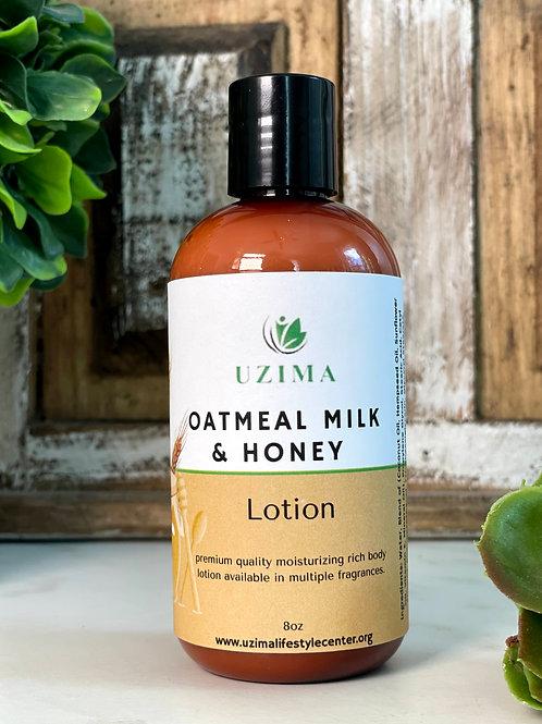 Oatmeal Milk Honey Body Lotion