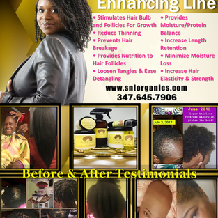 His Mane Glory Growth Enhancement Flyer