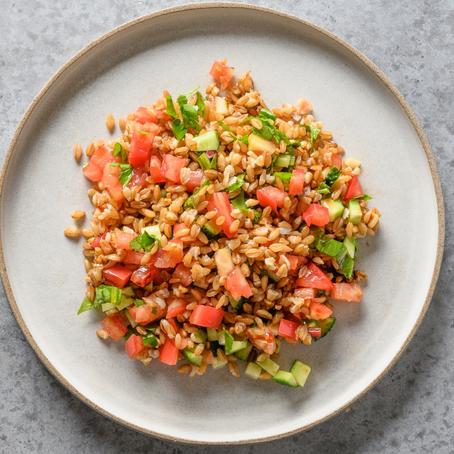 VEGAN Spelt Grain Salad