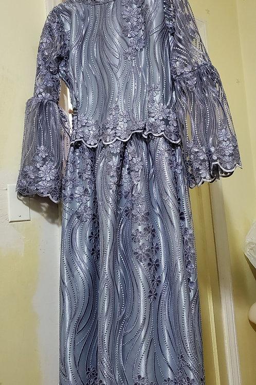 Silve lace dress