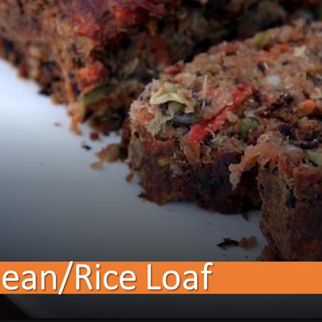 Black Bean Rice Loaf