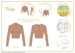 Garment specification & quick cost
