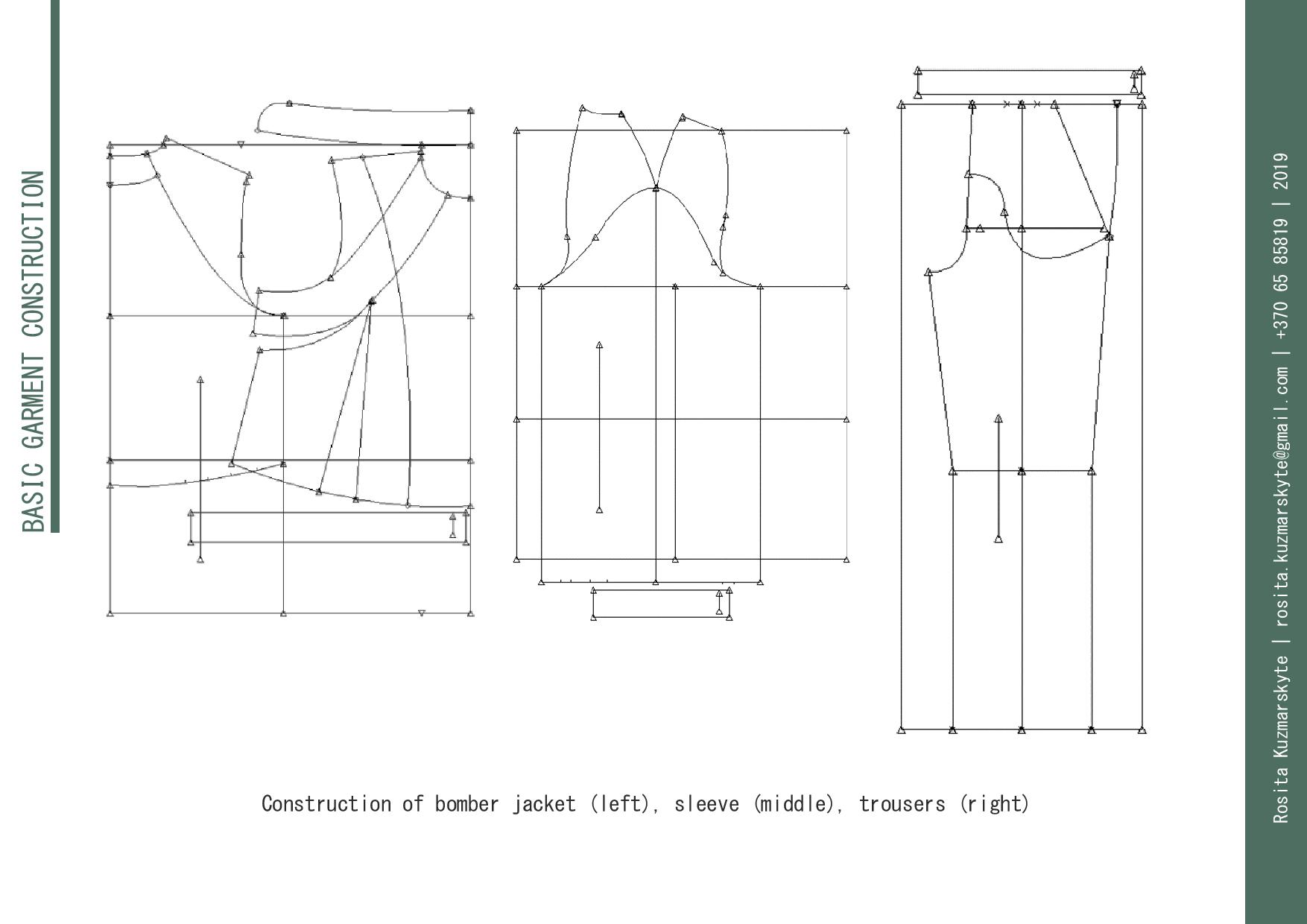 Construction of the Garments