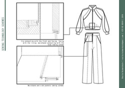 Scheme of Garment Sewing Technology