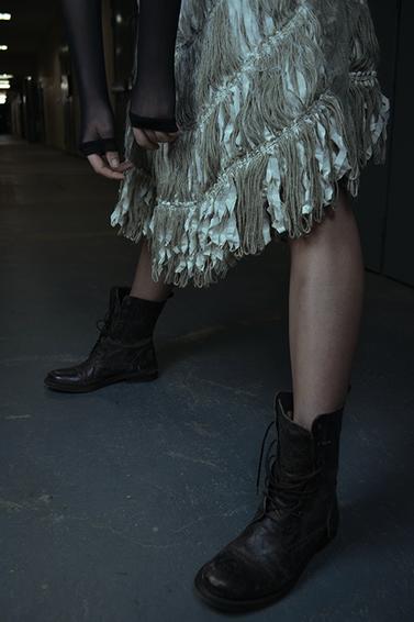 fabric scrap skirt
