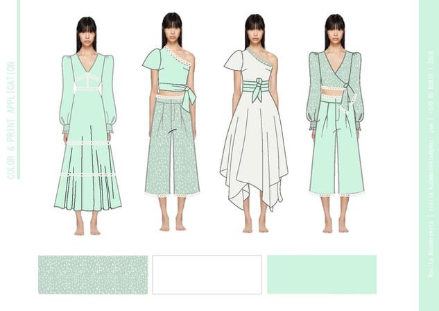 Visualisation of garments