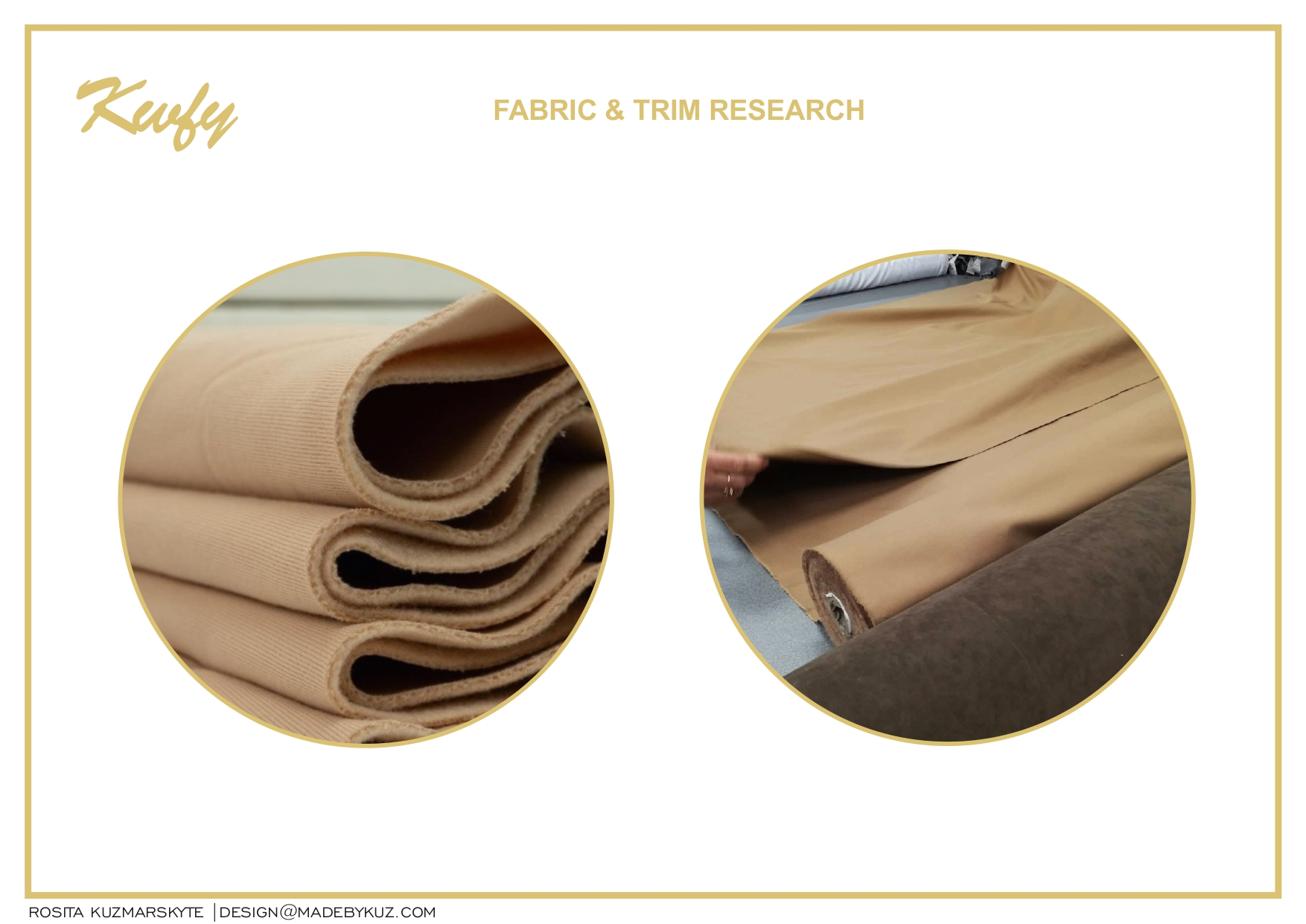 Fabric & Trim research
