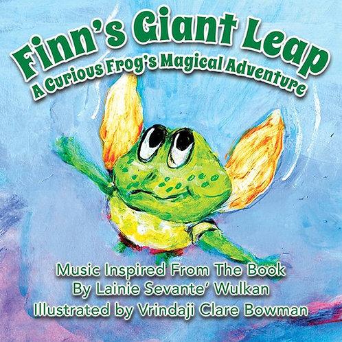 Finn's Giant Leap Music CD