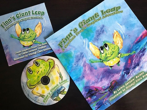 Finn's Gian Leap Book & Music CD Set