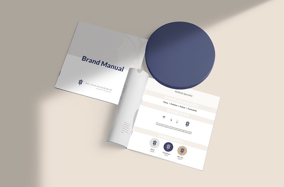 Dr. Ammar Barakat Brand Manual   Pixhance