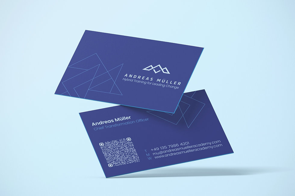 Andreas Mueller business card   Pixhance
