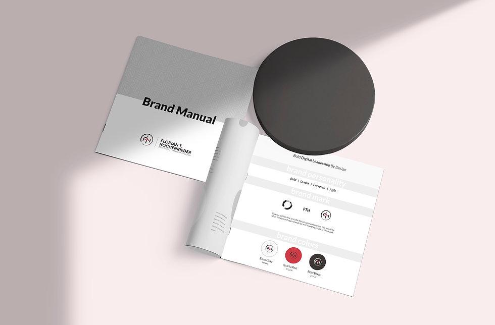 Florian Hochenrieder Brand Manual | Pixhance
