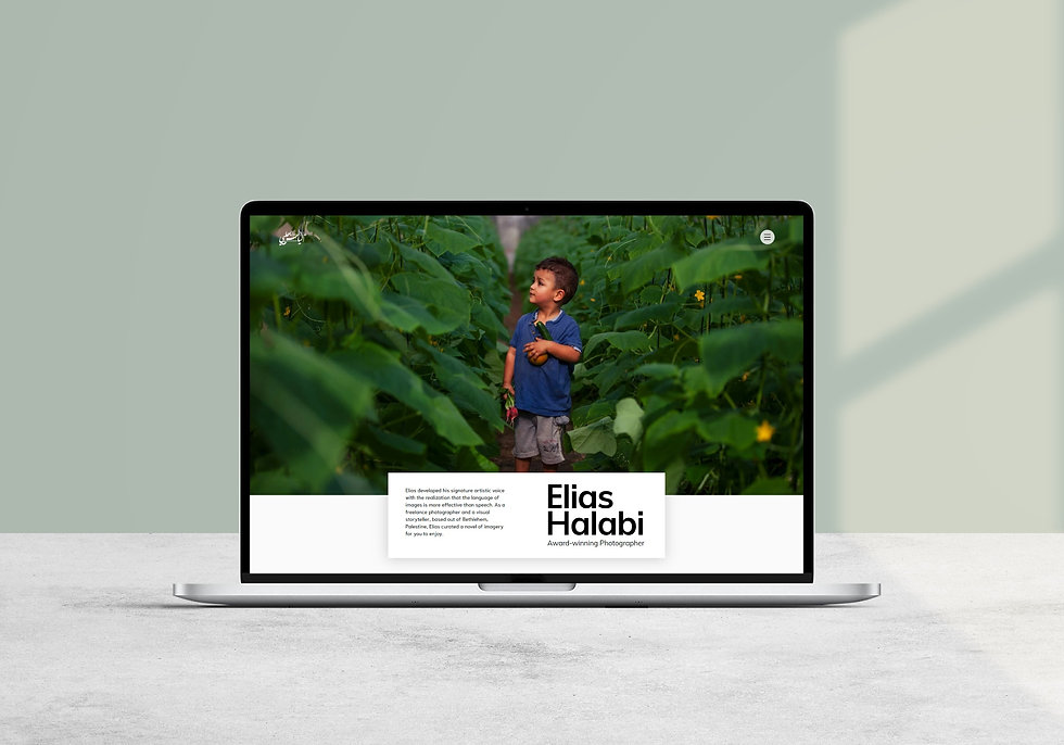 Responsive Personal Website - Elias Halabi