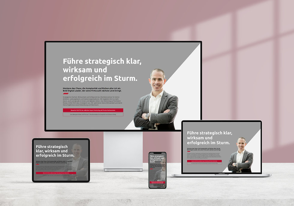 Florian Hochenrieder branded website | Pixhance