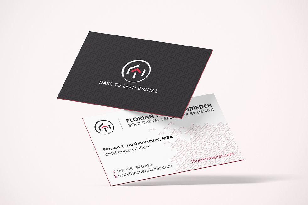 Florian Hochenrieder business card | Pixhance