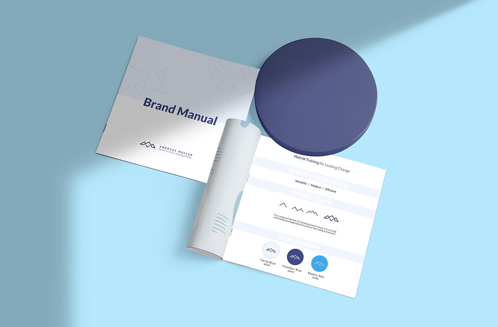Andreas Mueller Brand Manual   Pixhance
