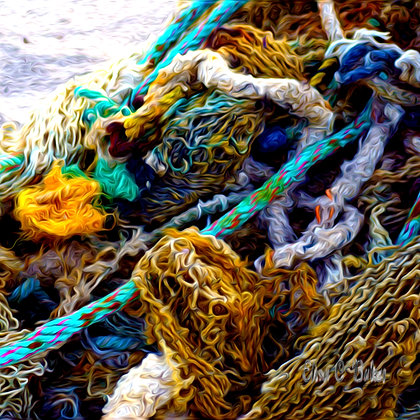 Tangled Nets and Rope