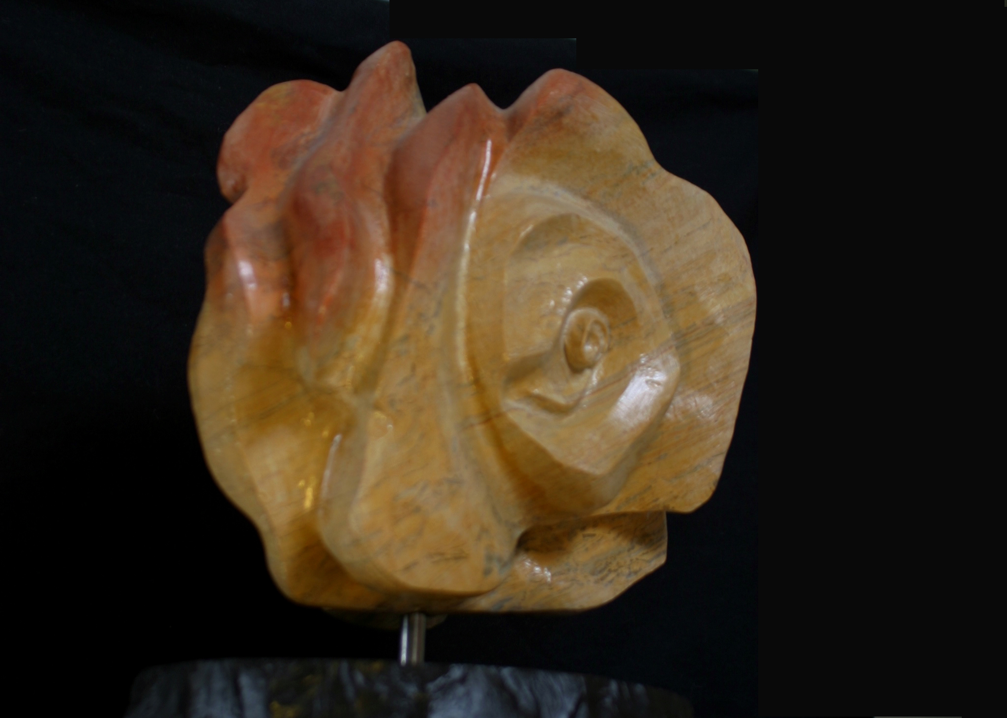 SLANTED MEDITATION ROSE/BUDDHA