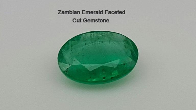 Zambian Emerald Faceted Cut