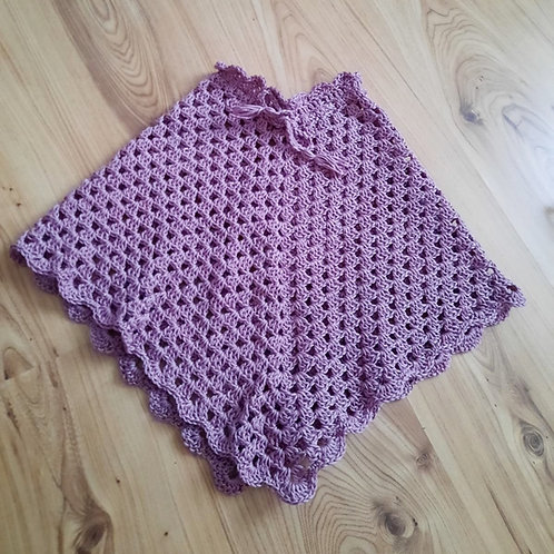 Poncho lila