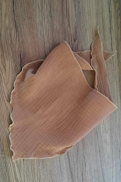 Dreieckstuch aus Musselinstoff
