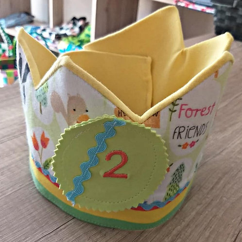 Geburtstagskrone - Buben
