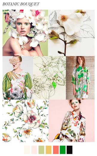 Trends Botanic Bouquet: Hand Drawn Textile Designs