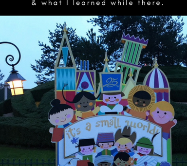 It's a Small World: Why We Took a 30 Day Trip to Europe and What I Learned