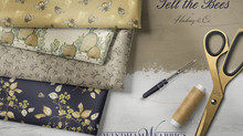 Tell the Bees Fabric Debut with Windham Fabrics