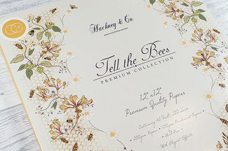 Tell the Bees: My New Hand Illustrated Paper Craft Collection with Craft Consortium