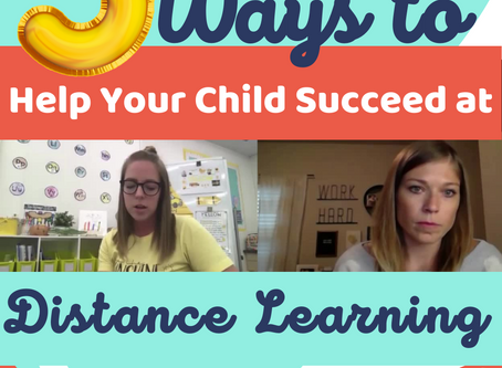 5 Ways to Help Your Kiddo with Distance Learning