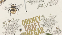 Orkney Craft Vinegar Botanical Illustrations