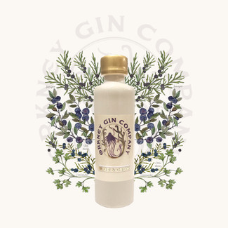 Orkney Gin Company Illustrated Botanicals for Two New Gins