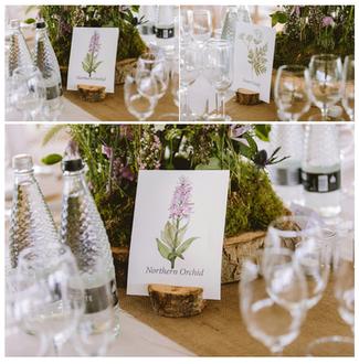 Scottish Wild Flower Wedding Stationery