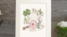 The Orkney Gin Company special edition Botanical prints are now available to purchase