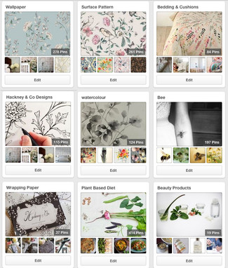 My Pinterest Boards and Love of Pinning
