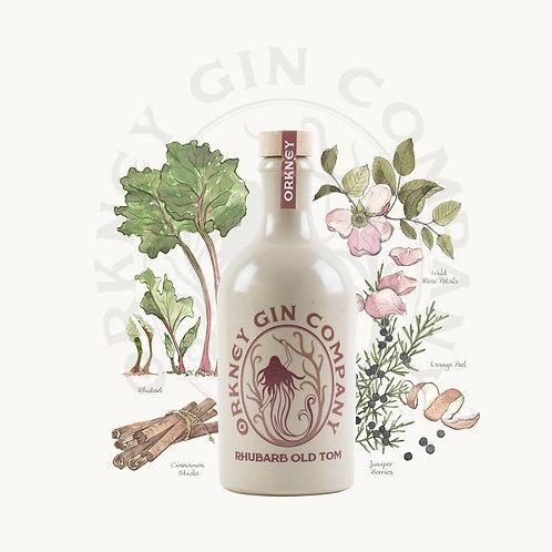 Rhubarb Old Tom Gin 50cl
