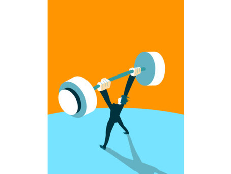 In Business and Exercise, Growing Stronger is a Painful Process